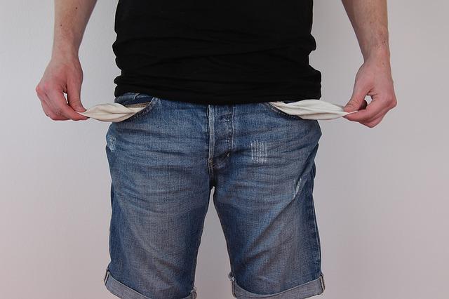 Kredit wegen Geldnot